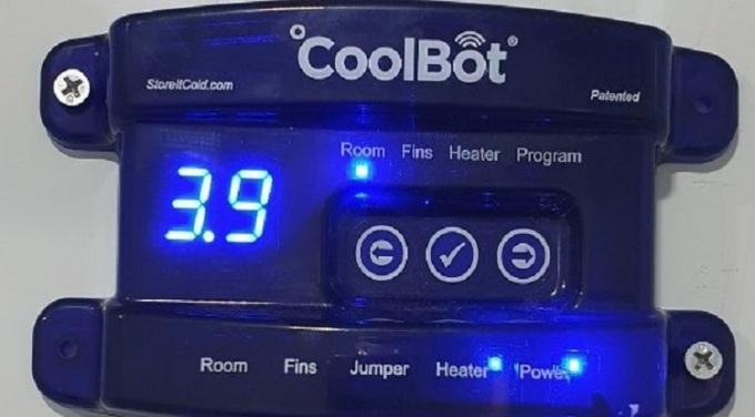 Thiết bị Coolbot giúp điều hòa giảm nhiệt xuống dưới 5 độ C trong khi điều hòa thông thường chỉ có thể giảm tới mức 15 độ C. Ảnh: Aus4Innovation.