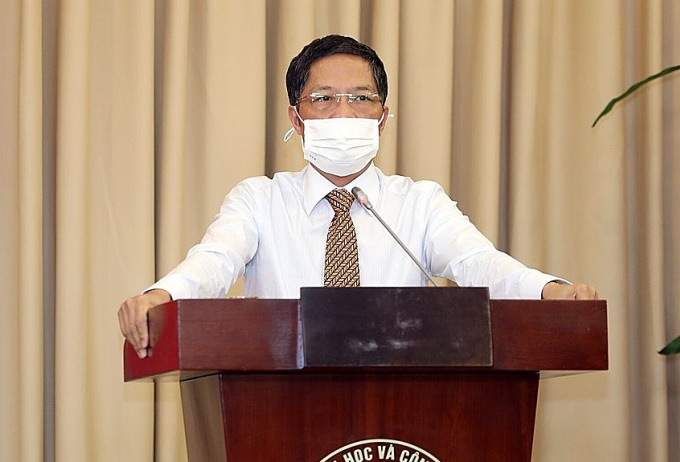 Ông Trần Tuấn Anh phát biểu tại sự kiện. Ảnh: AT.