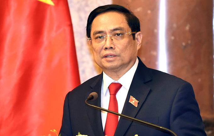 Thủ tướng Nguyễn Xuân Phúc phát biểu tại buổi lễ chiều 28/7. Ảnh: VGP