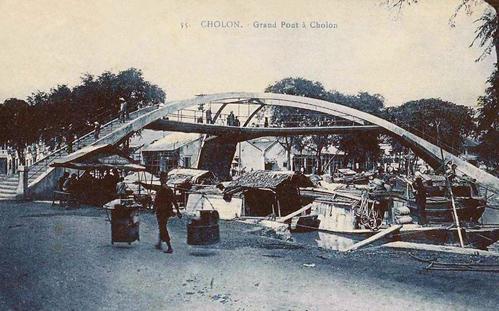 Cầu Ba Cẳng bắt qua 3 hướng khác nhau. Ảnh:Flickr