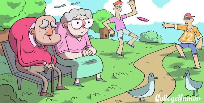 """<p class=""""Normal"""" dir=""""ltr""""> Sinh viên và người già đều không hiểu mình đang làm gì với bản thân hàng ngày.</p>"""