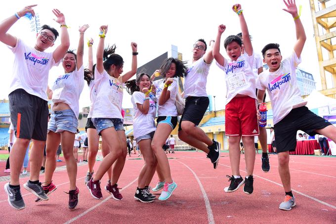 <p> Giải chạy chung tay vì cộng đồng, tạo một sân chơi năng động dành cho giới trẻ, truyền cảm hứng cho người trẻ về những hoạt động cộng đồng thiết thực.</p>