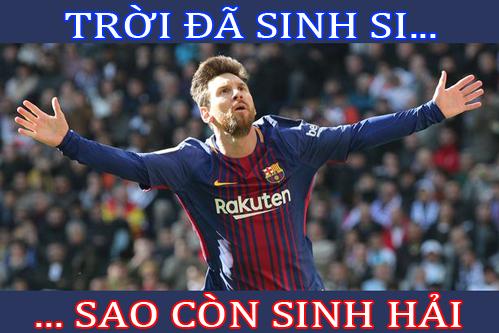 Siêu sao Messi tỏ ra ghen tỵ với cầu thủ của U23 Việt Nam.