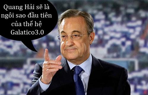 Chủ tịch Real tỏ ra rất quyết tâm trong thương vụ này.