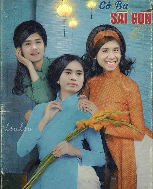 Bộ ba thiếu nữ Công Phượng - Văn Toàn - Hồng Duy xinh tươi như hoa cùng nhau khoe sắc.