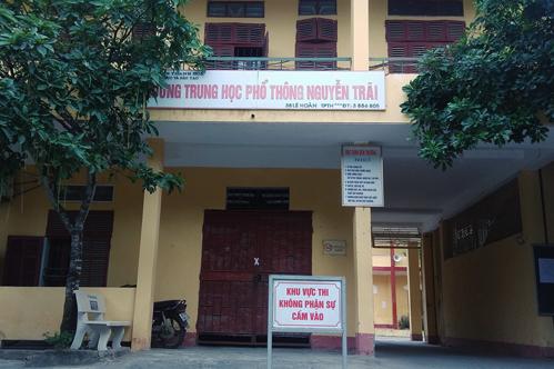 Trường THPT Nguyễn Trãi.