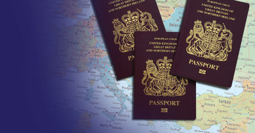 Outstanding characteristics of electronic passports