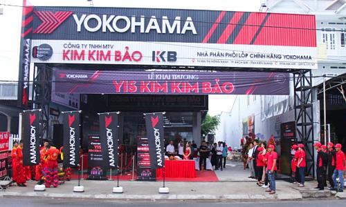 Với cửa hàng Yokohama mới, các tài xế có thêm nhiều lựa chọn về lốp uy tín tại Kiên Giang.