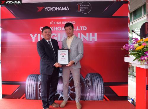 Hợp tác với YIS Gia Linh của Công ty TNHH Gia Khoa đánh dấu bước phát triển đầu tiên của Yokohama Tyre Việt Nam tại Hà Nội.