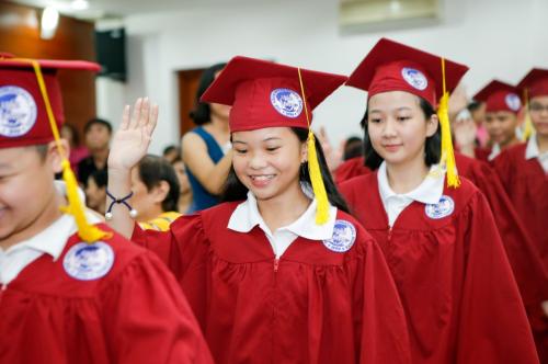 Trường IPS tổ chức lễ tốt nghiệp cho học sinh lớp 5