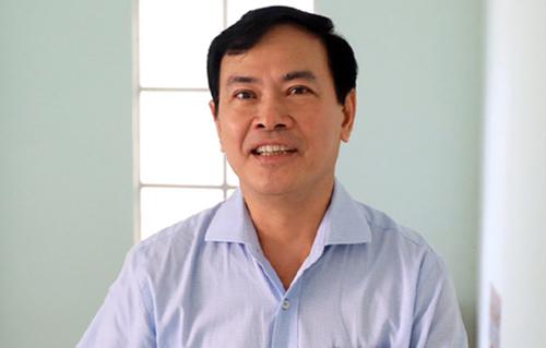 Ông Linh trong lần ra tòa hồi tháng trước. Ảnh: Hữu Khoa.