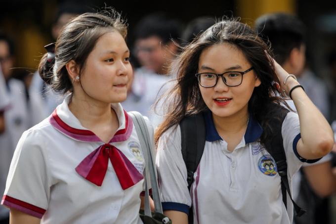 Thí sinh TP HCM tham dự kỳ thi THPT quốc gia 2019. Ảnh: Thành Nguyễn