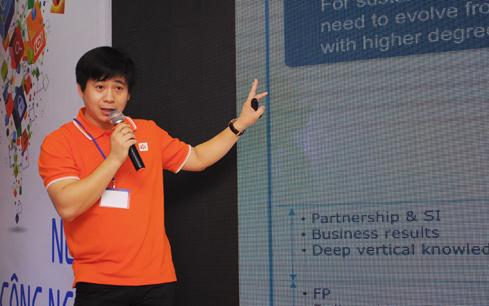 Ông Lê Hồng Việt – Giám đốc Công nghệ Tập đoàn FPT.