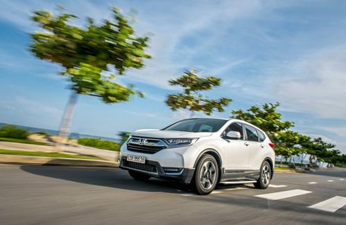 Honda CR-V có khả năng tăng tốc từ 0 đến 100 km/h dưới 10 giây.