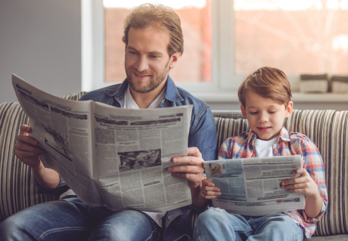 Learn English (Foreign Language) by reading foreign newspapers
