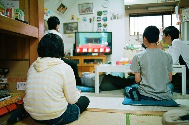 Học sinh chơi trò chơi tại trường học tự do Tamagawa (thành phố Tokyo, Nhật Bản). Ảnh: Stephane Bureau Du Colombier.