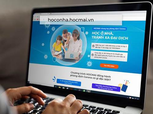 Mở cổng học trực tuyến miễn phí cho học sinh