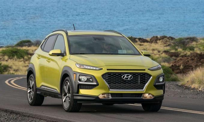 Hyundai Kona 2020 giá từ 20.000 USD. Ảnh: Hyundai.