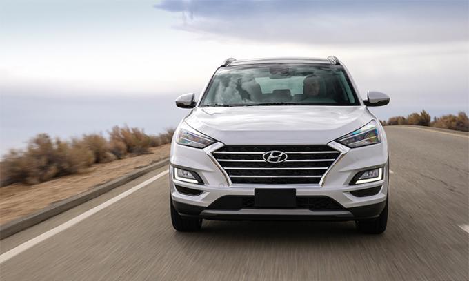 Tucson 2019 giá từ 23.400 USD tại Mỹ. Ảnh: Hyundai.