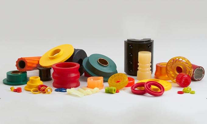 NhựaPU được làm từpolyurethane được sử dụng trong nhiều lĩnh vực. Ảnh:Jomelar Elastomer.