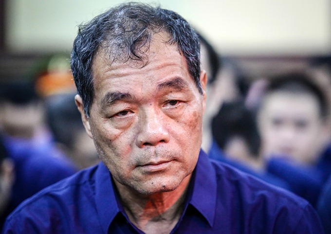 Ông Trầm Bê trong lần ra tòa năm 2018. Ảnh: Thành Nguyễn.
