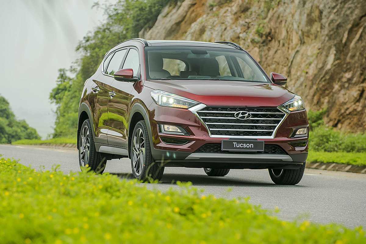 Hyundai Tucson lăn bánh tại Việt Nam. Ảnh: TC Motor