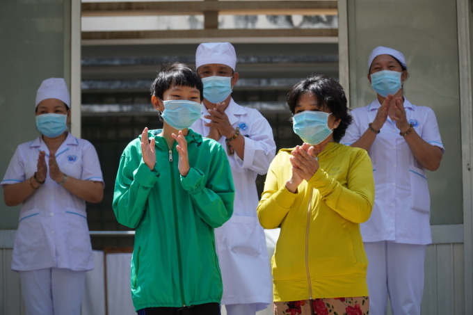Hai bệnh nhân cuối ở Bình Thuận xuất viện