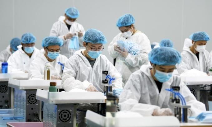 Ca nhiễm mới ở Trung Quốc giảm