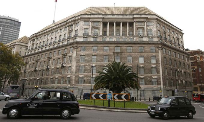 Trụ sở Cơ quan An ninh (MI5) tại London, Anh. Ảnh: Reuters.