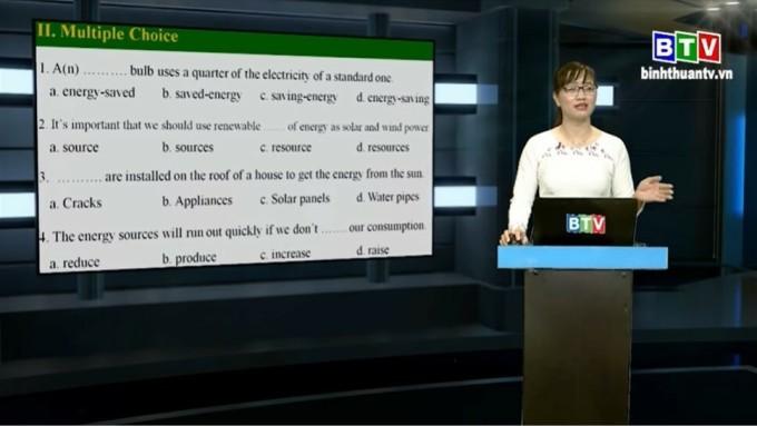 Bình Thuận dạy trực tuyến cho học sinh trung học