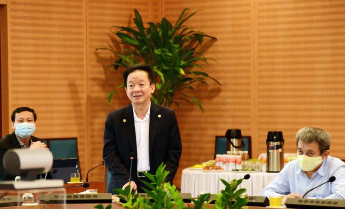 Ông Đỗ Quang Hiển, Chủ tịch tập đoàn T&T. Ảnh:Trọng Toàn.