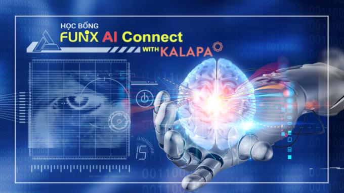FUNiX cùng Kalapa trao 200 triệu Học bổng AI Connect