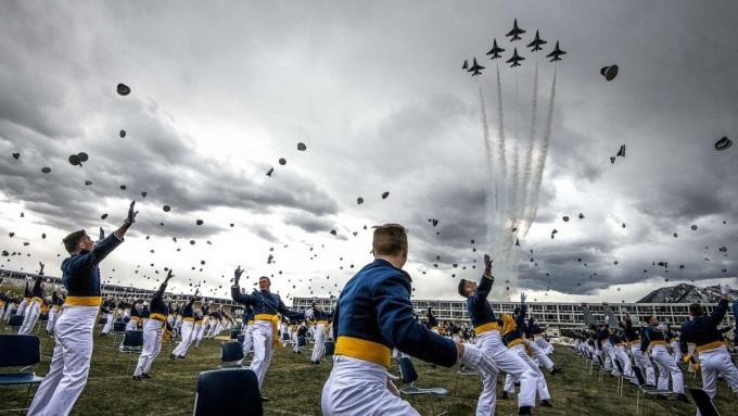 Lễ tốt nghiệp của Học viện Không quân Mỹ