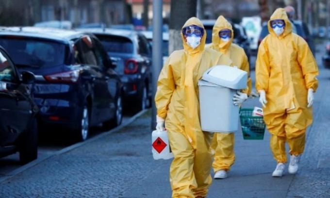 Ca nhiễm nCoV ở Đức vượt 140.000