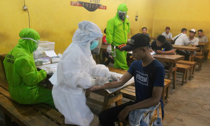 Ca nhiễm nCoV ở Đông Nam Á vượt 30.000