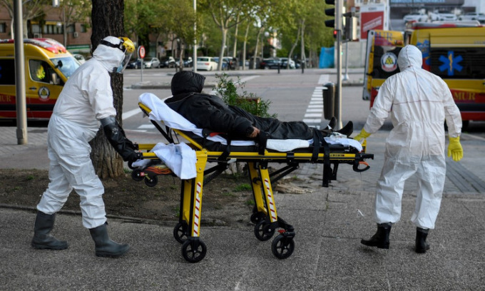 Ca tử vong nCoV mới tại Tây Ban Nha thấp nhất trong một tháng