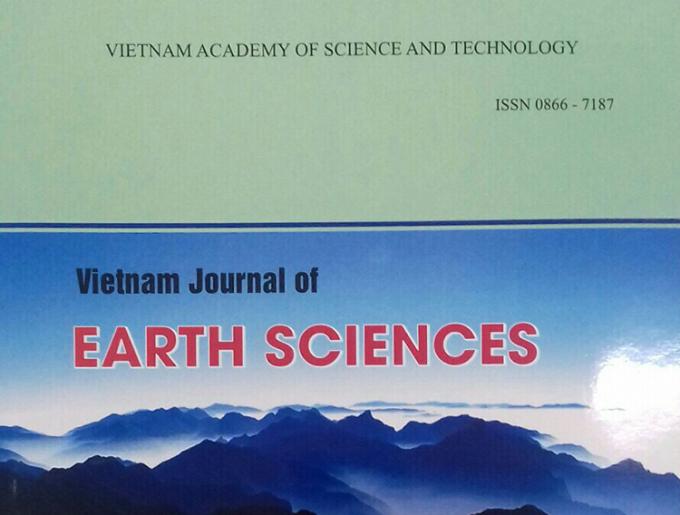 Bìa Tạp chí các khoa học về Trái Đất.