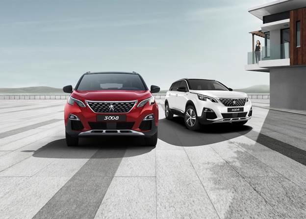 Bộ đôi Peugeot 3008 và 5008.