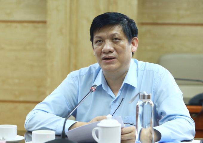 Thứ trưởng Bộ Y tế Nguyễn Thanh Long. Ảnh: VGP