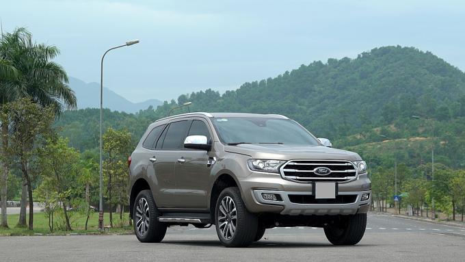 Một mẫu Ford Everest 2.0 tại Việt Nam. Ảnh: Toàn An