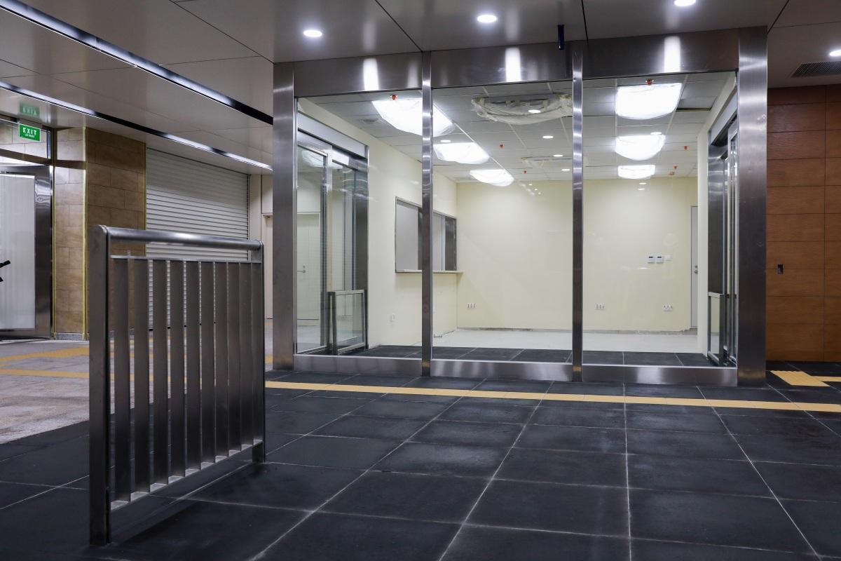 Cận cảnh bên trong nhà ga ngầm tuyến Metro TP HCM