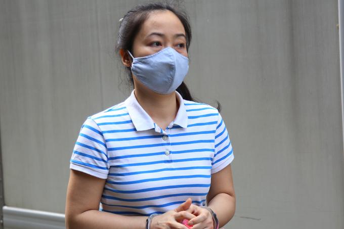 Lê Thị Thu Thủy đang thi hành bản án 4 năm tù trong vụ án xảy ra tại giai đoạn một. Ảnh: Phạm Dự