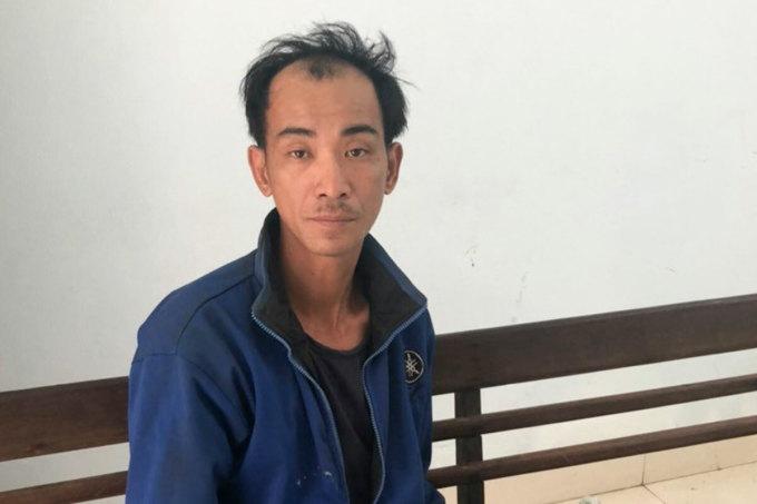 Nghi phạm Nguyễn Văn Hà. Ảnh: Văn Hồ.