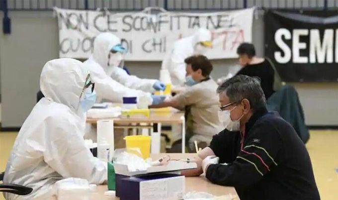 Vùng Bologna và sông Po ở miền bắc Italy có số lượng lớn nhất các trường hợp Covid-19 ghi nhận tại một khu vực đặc trưng bởi nồng độ hạt vật chất (PM) cao. Ảnh: Reuters.