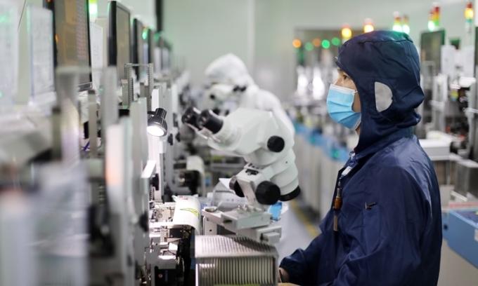 Covid-19 có thể đẩy nhà máy nước ngoài khỏi Trung Quốc