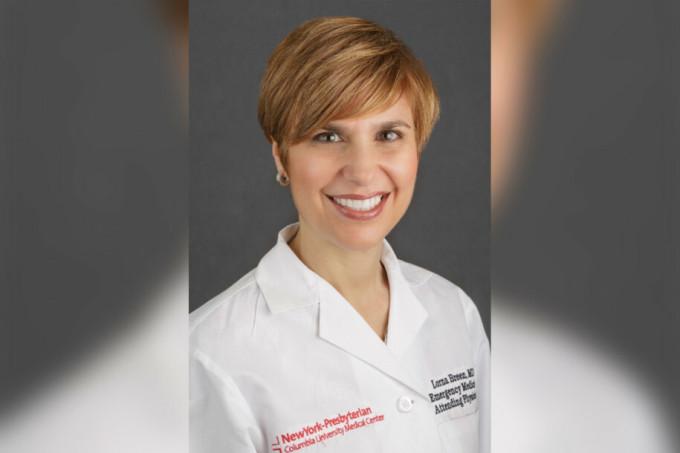 Bác sĩ Lorna Breen, 49 tuổi, trưởng khoa cấp cứu của bệnh viện NewYork-Presbyterian Allen. Ảnh: NY Post