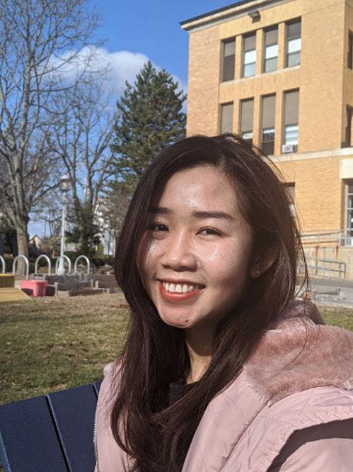 Linh Nguyễn (Thạc sĩ TESOL) cho biết đã rất đúng đắn khi chọn học tại Salem State.