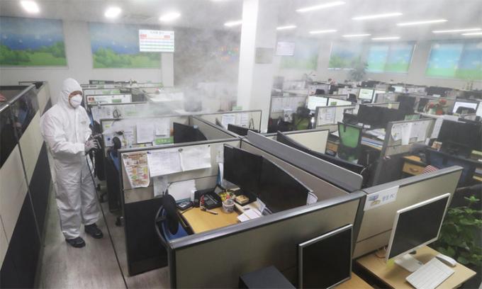 Hàn Quốc cảnh báo nguy cơ nCoV trong công sở