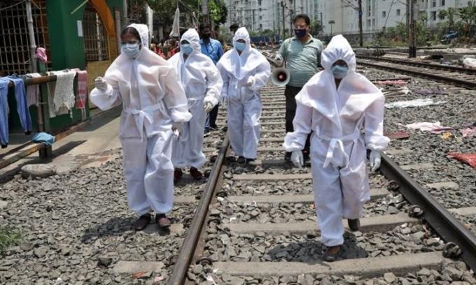 Ca tử vong vì nCoV ở Ấn Độ vượt 1.000