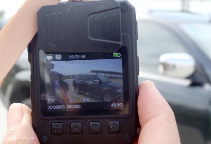 Cục CSGT khuyến khích ghi hình người vi phạm